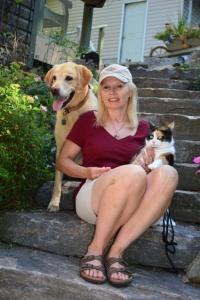 Sharon Ledwith and pets _3.1